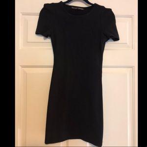 Black Zara Basics Dress XS